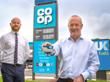 Co-op filling stations join UK Fuels network